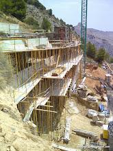 Photo: Vista lateral. Fase de estructura.