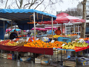 Photo: They also had a lot of fresh vegetables and fruit.