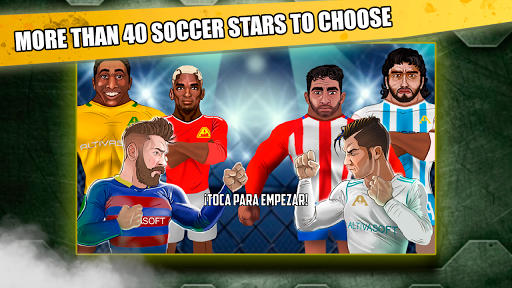 Free soccer game 2018 - Fight of heroes 1.6 screenshots 1