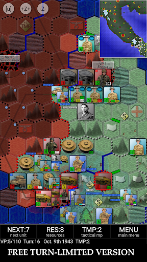 Télécharger Gratuit Allied Invasion of Italy 1943-1945 (free) mod apk screenshots 1
