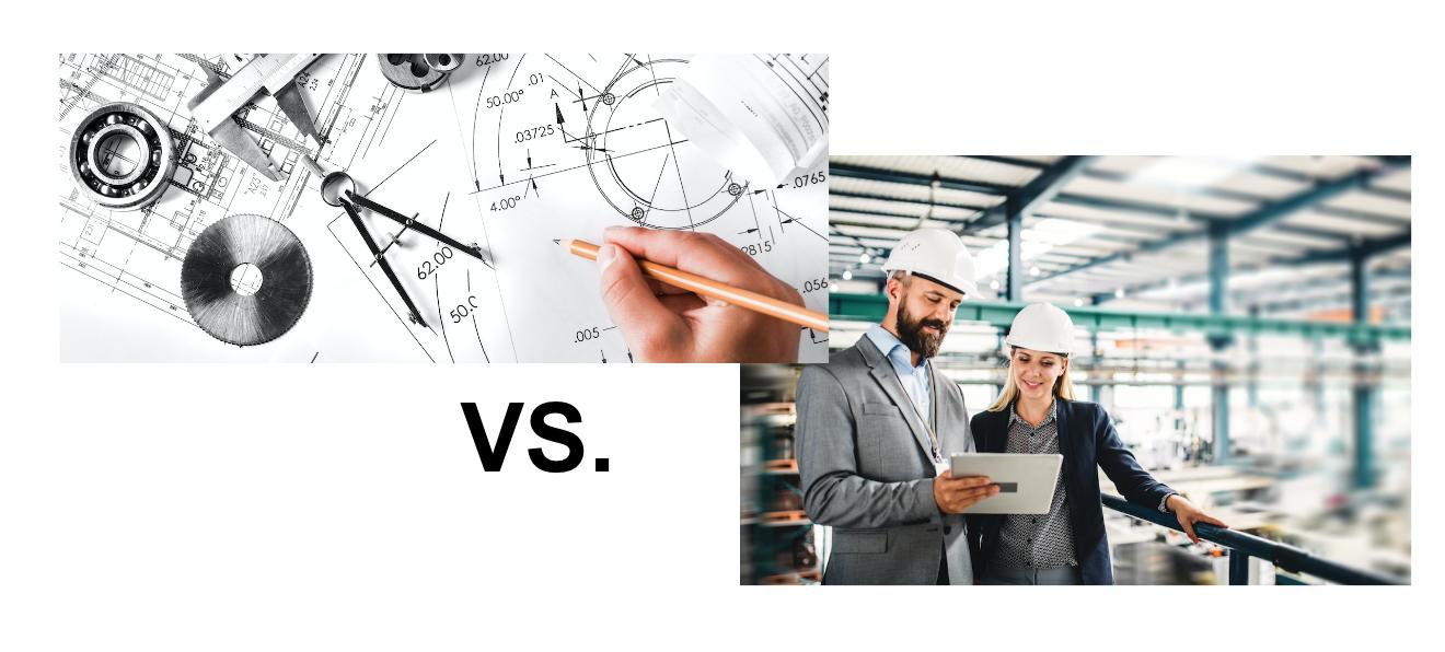 mechanical engineer vs. industrial engineer
