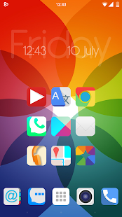 NINE theme ios9 icons concept - screenshot
