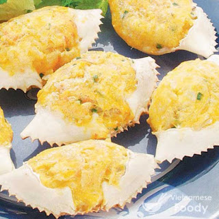 Vietnamese Stuffed Crabs (Cua Farci).