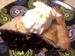 Orange Blueberry Hill Pie Recipe