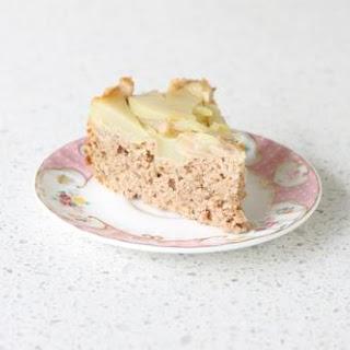 Chai Spiced Pear Upside Down Cake