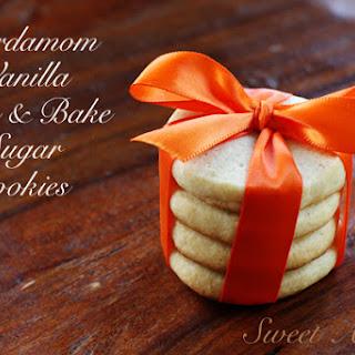 Cardamom Vanilla Sugar Cookies