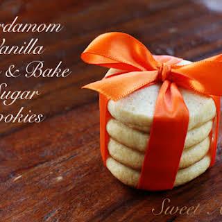 Cardamom Vanilla Sugar Cookies.