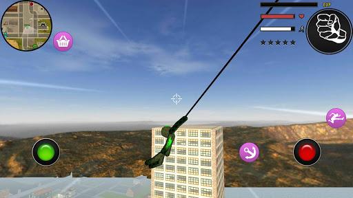 Spider Stickman Rope Hero Grand City Crime 1.0 screenshots 4
