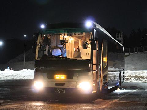 中国JRバス「出雲ドリーム博多号」 641-4957 道の駅たたらば壱番地にて その1