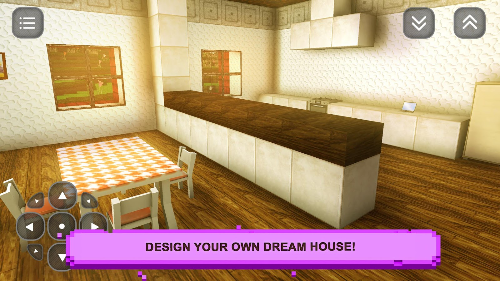 Sim girls craft home design android apps on google play for Build your own house simulator