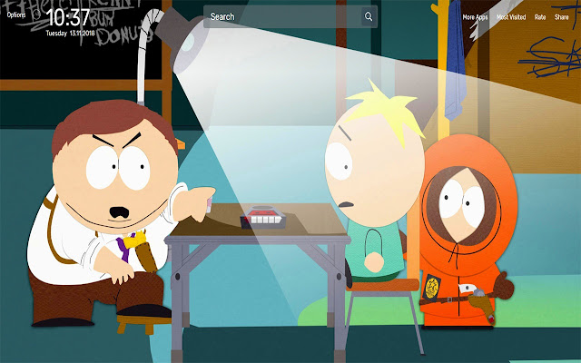 South Park Wallpapers NewTab Theme