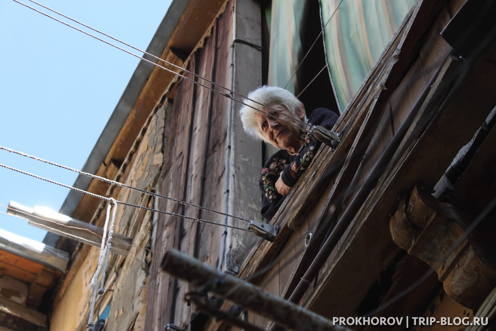 дворики тбилиси