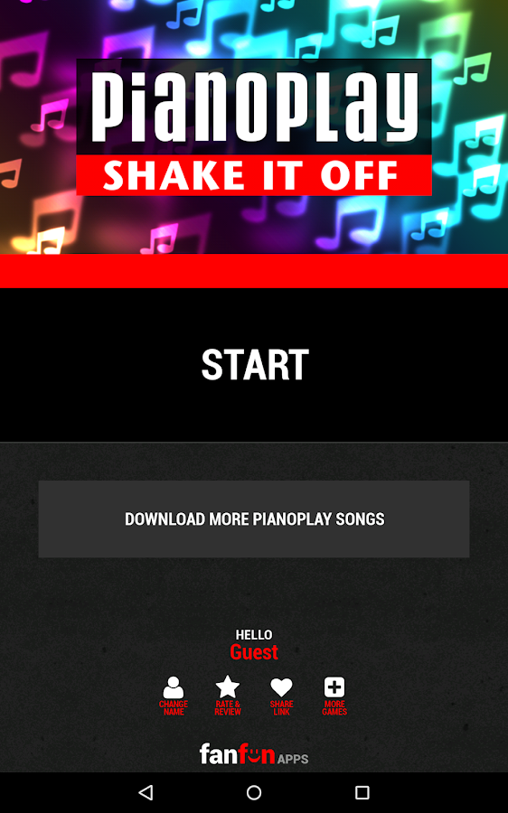 """Shake It Off"" PianoPlay- screenshot"