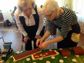 Photo: Janette Millbom hade workshop i Hårdslöjd - de får vi se till att ha igen!