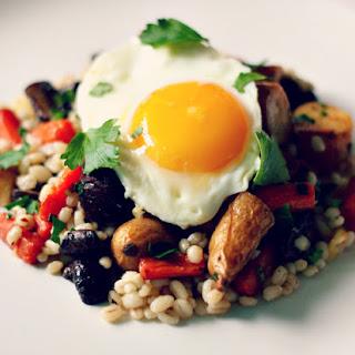 Roasted Root Vegetable + Barley Salad