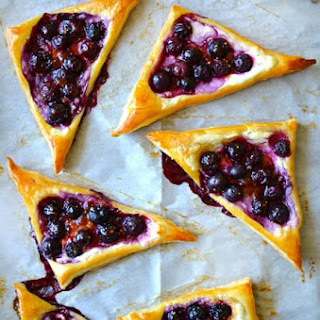 Blueberry Cream Cheese Pastries Recipe