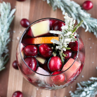 Red Christmas Single Serve Sangria.