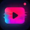 Video Editor - Glitch Video Effect & Edit Videos icon