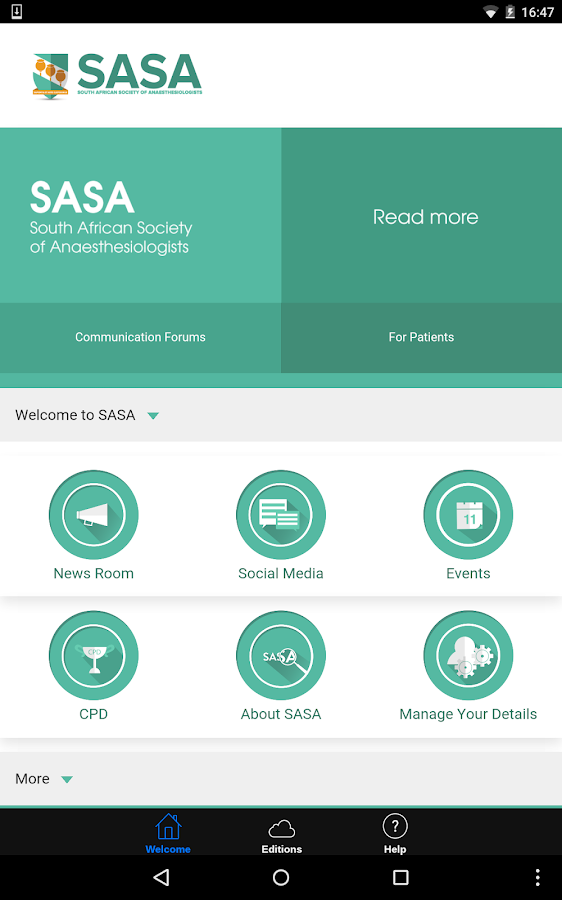 SASA- screenshot