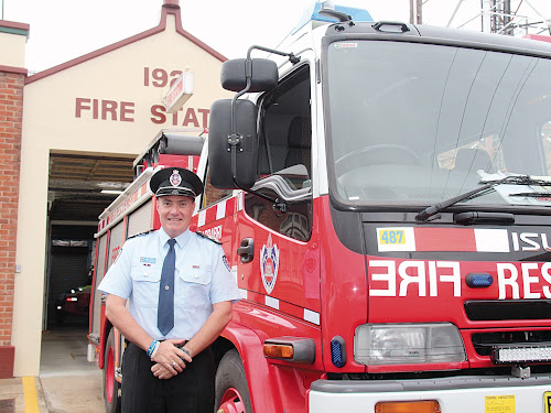 AWARD: Narrabri NSW Fire and Rescue Station Commander Shane Bradford has been awarded  the Australian Fire Services Medal in the Queen's Birthday Honours list announced yesterday.