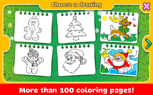 Christmas Coloring Book screenshots 3
