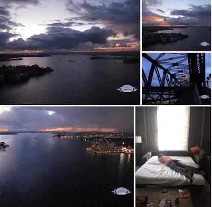 Sydney Bridge Climb Trip