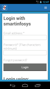 Smartinfosys.net App- screenshot thumbnail