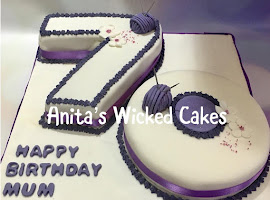 70th number shaped cake
