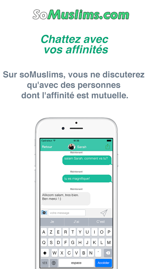 Muslim Dating and Meeting- screenshot