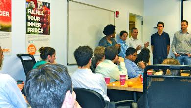 Photo: FreshDirect Dream Team drops knowledge