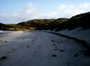 """Photo: Local Hero was filmed on this beach near Airsig Scotland -North of Arisaig walked in at sign that said """"Elephant Eggs"""" 1988, South of the golf course on B8008"""