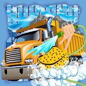Monster Truck Wash Salon Game