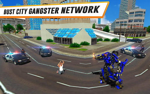 US Police Car Real Robot Transform: Robot Car Game 163 screenshots 7