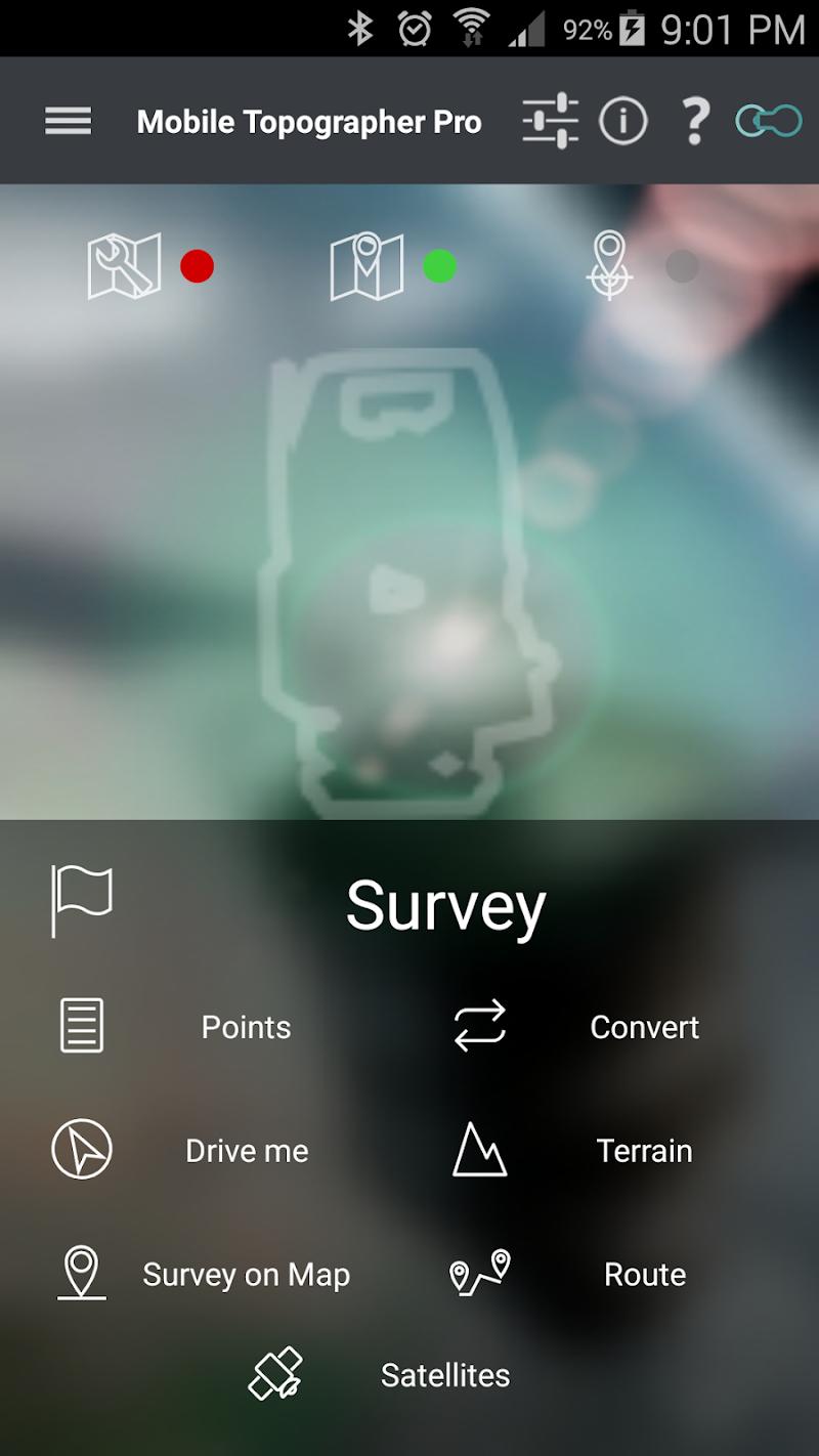 Mobile Topographer Pro Screenshot 1