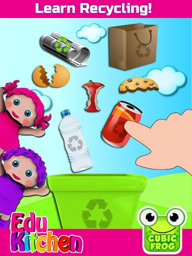 Toddler Kitchen Food Cooking Games-EduKitchen Girl 7.24 screenshots 7