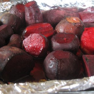 Oven Roasted Fresh Beets