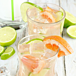 Lime Grapefruit Gin Cocktail