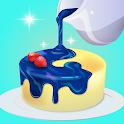 Mirror cakes icon