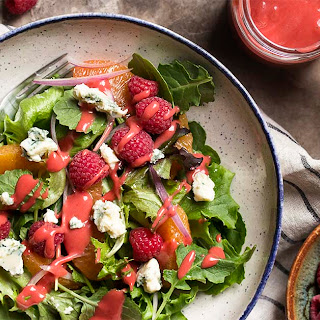 Fresh Raspberry Balsamic Vinaigrette.