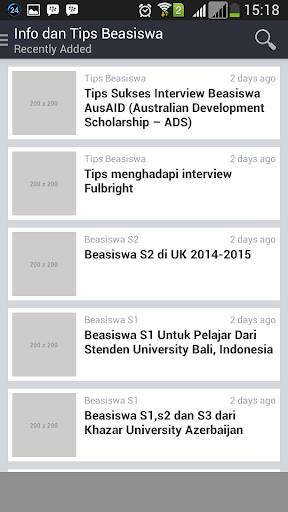 Info Beasiswa Tips