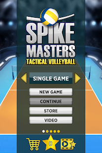 Spike Masters Volleyball- screenshot thumbnail