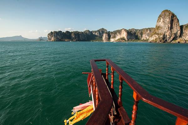 Cruise towards Railay Beach