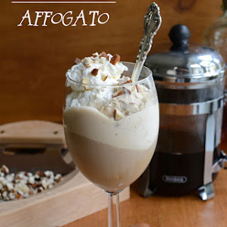 Cold Amaretto Coffee Affogato Recipe
