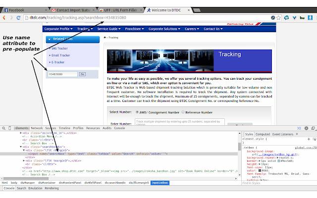 URL Form Filler