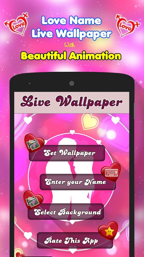 Live Love Wallpaper Apk : My Love Name Live Wallpaper - Android Apps on Google Play