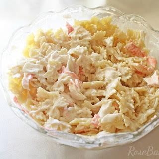 Buttermilk Crab Pasta Salad Recipe