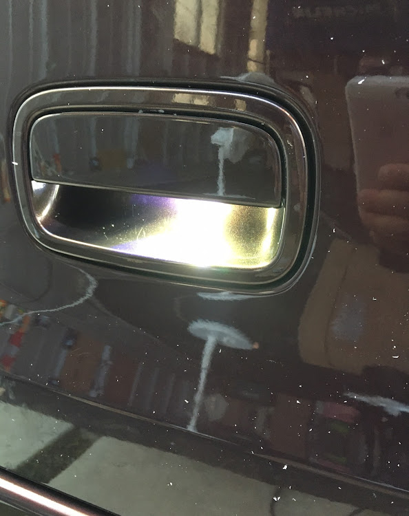 ミラ L275Sのオートファッション世代,LEDスポット,DIY,ドアノブLED,トランク照明に関するカスタム&メンテナンスの投稿画像7枚目