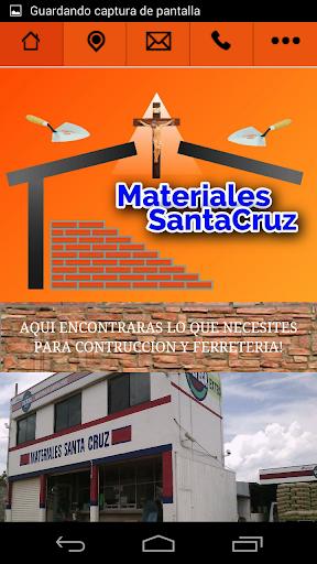 Materiales Santa Cruz