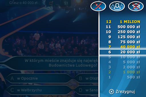 Milionerzy Quiz 2.2.4 screenshots 9