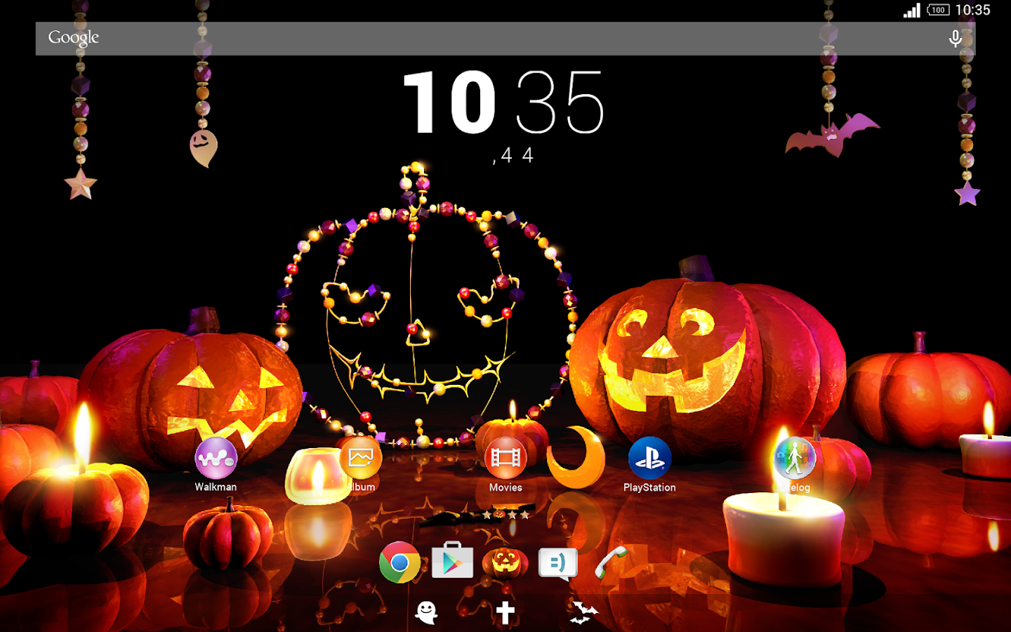 halloween theme for xperianz android apps on google play